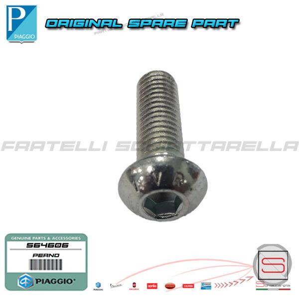 Vite Perno Brugola Zincata 08 x 25 mm Disco Freno Piaggio Medley X10 564606