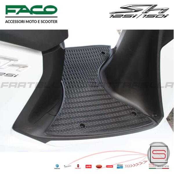 Tappeto Tappetino Pedana Honda Sh 125 150 Ie 2012-2018 0600
