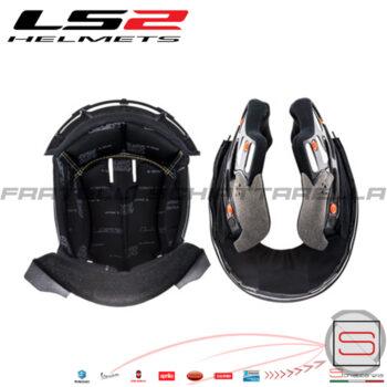 Imbottitura Interna Interno Casco Helmet Modulare Apribile LS2 FF399 Valiant e FF397 EVO 80010390