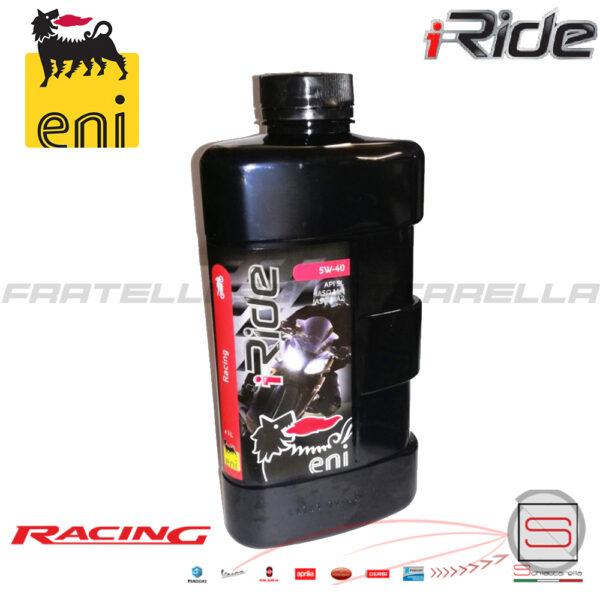 Lubrificante Olio Motore Agip Eni I Ride 5W40 5W 40 Sintetico Racing O528991