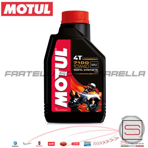 Lubrificante Olio Motore Motul 7100 10W40 100% Sintetico