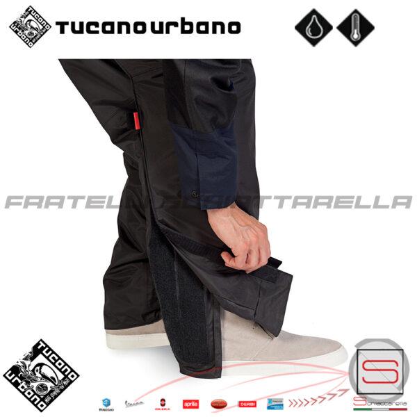 Pantalone Antipioggia Termico Moto Scooter Tucano Urbano Panta Fast R193 R-193 R 193