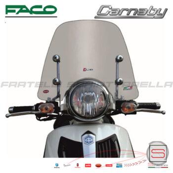 Cupolino Fumè Parabrezza Basso Faco Piaggio Carnaby Cruiser 300 28525