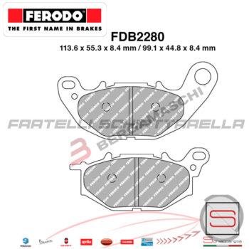 FDB2280 FDB80EF Pastiglie Freno Ferodo