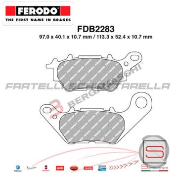 FDB2283 FDB2283EF Pastiglie Freno Ferodo