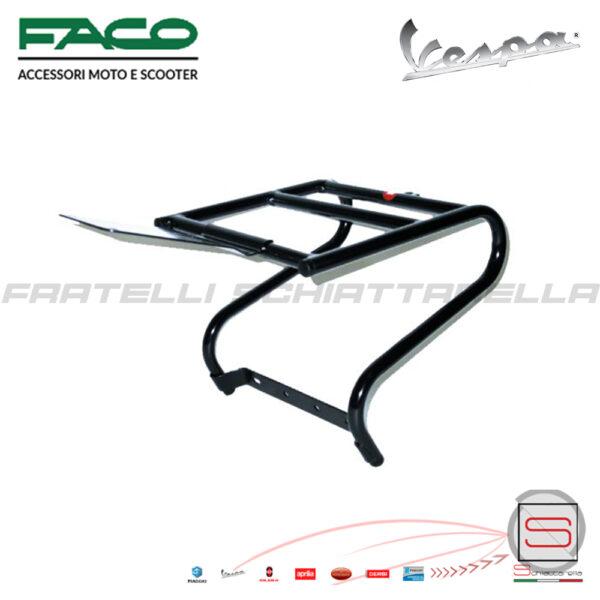 Portapacchi Portabaule Posteriore Nero Piaggio Vespa Px 08420 0200 0200C portabauletto baule bauletto