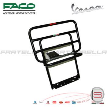 Portapacchi Posteriore Nero con Ribaltina Piaggio Vespa Px 0200/C 0200 C 200