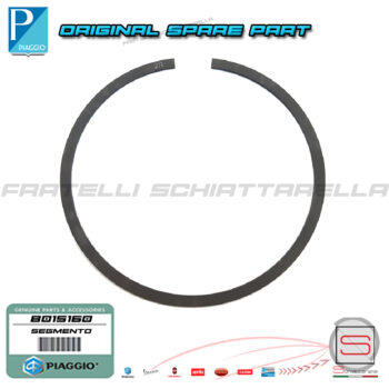 Segmento Raschiaolio 75X1,2 Originale Piaggio Beverly Abs Rst Vespa GTS GTV Mp3 B015160 Business Touring Super Sport