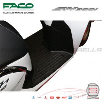 Tappeto Tappetino Pedana Honda SH 300 Ie Dal 2015-2018 Copripedana F20221 0624