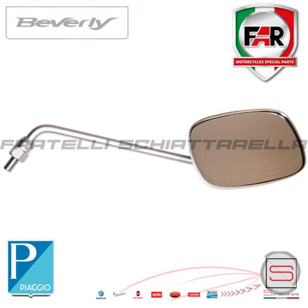 Specchio Specchietto Retrovisore Destro Piaggio Beverly 200 2001-2003 0514 CM071005 CM067402 Grigio Satinato Opaco