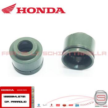 12203ML0721 Coppia Paraolio Valvola scarico Honda Sh 300