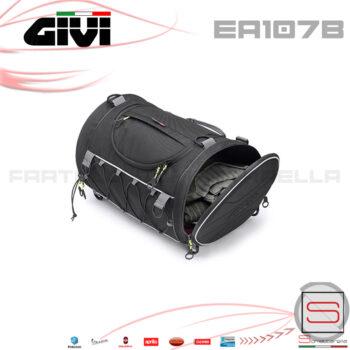 Borsa Da Coda A Rullo Givi 35lt Da Sella EA107B EA 107 B Bmw Moto Vespa bauletto borsone zaino enduro touring scooter valigia litri 35