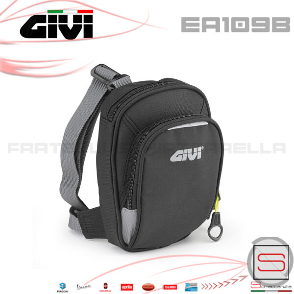 Borsello Da Gamba Regolabile Givi Linea Easy Bag EA109b EA 109 B