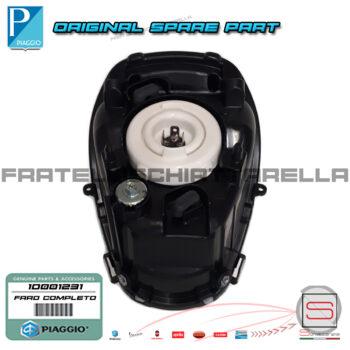 Gruppo Ottico Faro Fanale Completo Originale Piaggio Meddley 4T IE 125 150 Abs proiettore 1D001231 medley