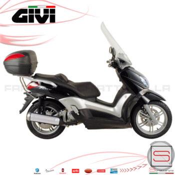 Parabrezza Paravento Givi Yamaha X-City 125-250 dal 2007 al 2017 D439ST KIT Spoiler Cupolino Protezione Windscreen Vetro Schermo Lastra