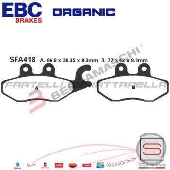 R1641800 Pastiglie Freno SFA418 FDB2186