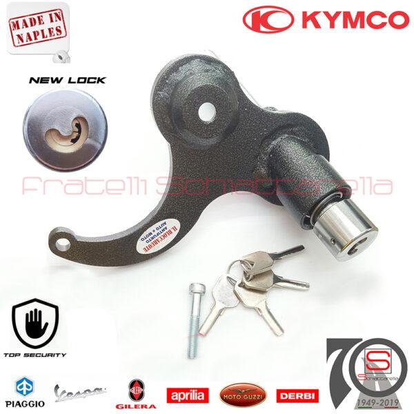 Antifurto Piastra Bloccaruota Bloccaruote Kymco People S 125 150 I dal 2018 Meccanico MaxiScooter Bloccadisco Block System A1027