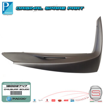Chiusura Scudo Anteriore Destro Originale Piaggio Medley 4T IE ABS 125 150 1B003747
