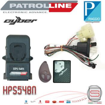 Kit Antifurto Elettronico Allarme Patrol Line Hps 548n Liberty Medley Vespa GTS GTV ZWW-022830-0 05-51-3730 ZWW0228300 05513730 ZW N2283 ZW N 2283