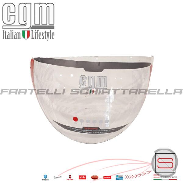 Visiera Lunga Trasparente Casco Jet Moto CGM Florence 107A FLA 107 A