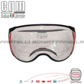 Visiera Sagomata Trasparente Casco Jet Moto CGM Florence 107A FSA 9107FS101A 9107 FS1 01A 9107-FS1-01A