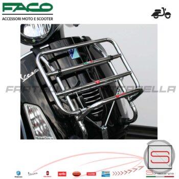 01425C Portapacchi Anteriore Cromato con Ribaltina Piaggio Vespa GTS 125 250 300