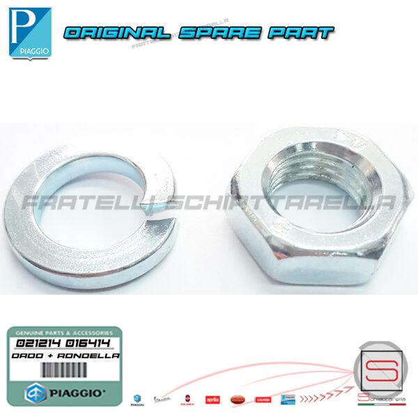 021214 016414 Dado Rondella Perno Motore Vespa Px
