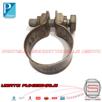 Fascetta Stringitubo Marmitta Original Beverly MP3 X8 X9 Vespa GTS Nexus 8449404 844940 AP8119904 82789R 842077 845320 Collettore