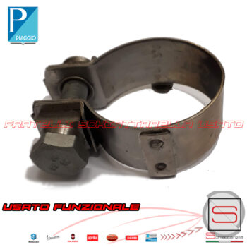 Fascetta Stringitubo Marmitta Original Beverly MP3 X8 X9 Vespa GTS Nexus 874951 843258 840370 Collettore