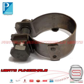 Fascetta Stringitubo Marmitta Original Beverly MP3 X8 X9 Vespa GTS Nexus 874951 843258 840370 Collettore