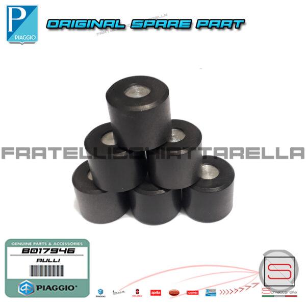 Kit 6 Rulli 19×17 Gr 9,9 Variatore Piaggio Medley Vespa LX S 946 4T 3V ABS FLY CM167501 B017946
