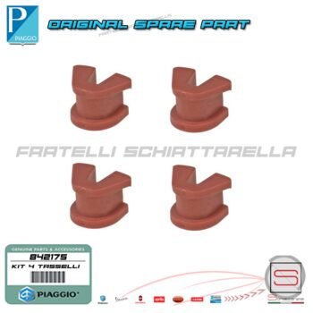 842175 Kit 4 Tassello Pattino Variatore Originale