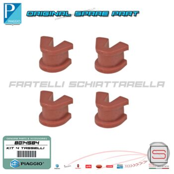 B014584 Kit 4 Tassello Pattino Variatore Originale