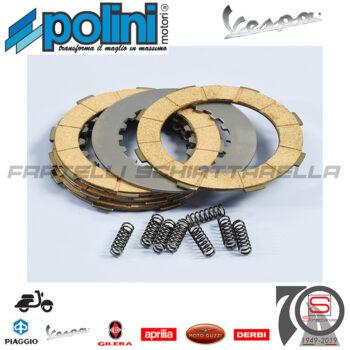 2300022 Serie Dischi Kit Revisione Frizione 8 Molle Polini Piaggio Vespa Px FD Cosa 2