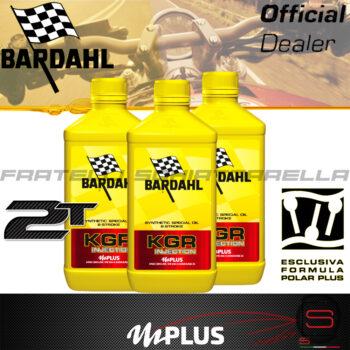 3 litri Olio Lubrificante Bardhal KGR INJECTION Miscela Moto Scooter Quad 2t Sintetico 2 tempi pure perfomance 100% premium lubrificanti