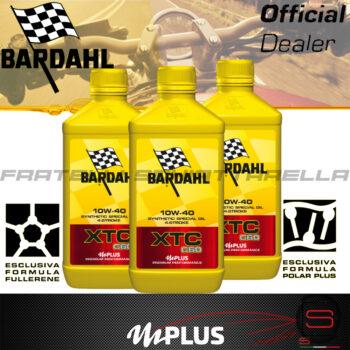 3 litri Olio Moto Bardahl XTC C60 10W40 4T OFF ROAD 4 Tempi Sintetico Fullerene