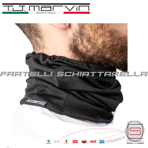 Collare Cappello Scaldacollo In Pile Elastico Antivento T.J.Marvin A001-00 (4)