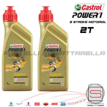 Olio Lubrificante Miscela 2T Semi Sintetico Motori 2 Tempi Mix Castrol Power 1