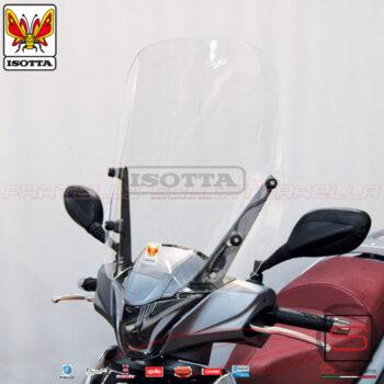 sc3037 Lastra Parabrezza Paravento Isotta Tipo 4 Fori Kymco People S 125-150I