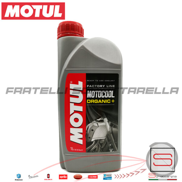 Motul Motocool Factory Line Liquido Refrigerante Moto -35°C +136°C 1 Litro Organic plus 3374650006475