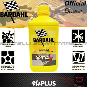 Olio Motore Moto Bardahl XT4-S C60 10w40 4T Polarplus Fullerene Mplus 10 Sintetico 4 tempi pure perfomance 357039 Lubrificante XTS 357041