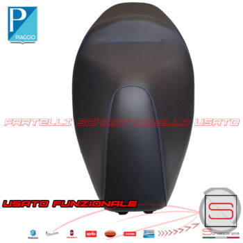 Sella Completa Originale Piaggio Medley 4T IE ABS 125 150 1B001705000C4 A