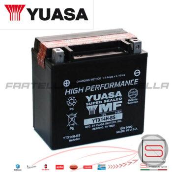 E01142 Batteria Yuasa YTX14H-BS