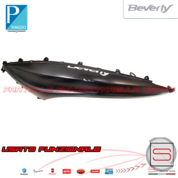 Fiancata Sinistra Original Piaggio Beverly Police Nero 93B Dal 2010 125 300 350 656353 65635300NO