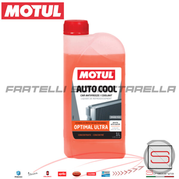 Liquido Refrigerante Radiatore Concentrato Motul Inugel Optimal Ultra
