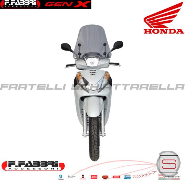 Cupolino Parabrezza Basso Lastra Fumè + Attacchi Fabbri Honda SH 300 2011 2012 2013 2014 2015 2818LD Summer