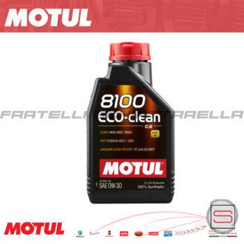 Olio Lubrificante Motul 8100 0W30 4T Eco-Clean Motore 4 Tempi 100% Sintetico