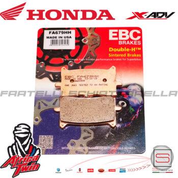 Pastiglie Pasticche Freno Anteriore EBC Sinterizzate Honda X-ADV 750 Africa Twin R1867900 06455MJPG51 FDB2294ST