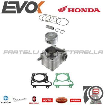100081020 Kit Cilindro Pistone Gruppo Termico 58mm EVOK Honda Sh Nes Keeway Outlook 150