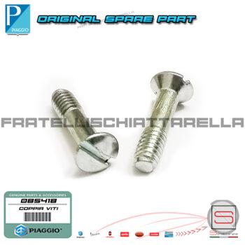 Coppia Vite Carburatore Coperchio Valvola Gas M10X70 Piaggio Vespa PX PK Ape 068817 085418 018572